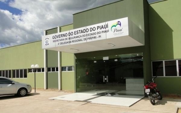 Delegacia Regional de Piripiri(Imagem:Clique Piripiri)