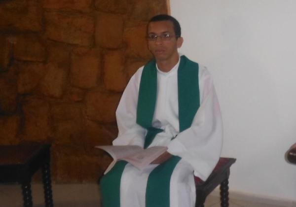 Frei Erivelton Pereira de Passos, OFM.(Imagem:FlorianoNews)