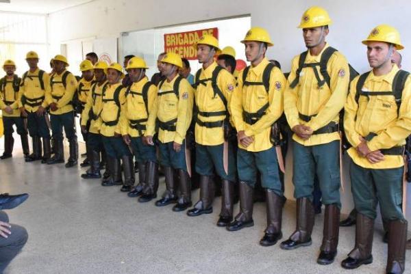 Brigada de Incêndio é instalada em Floriano(Imagem:SECOM)