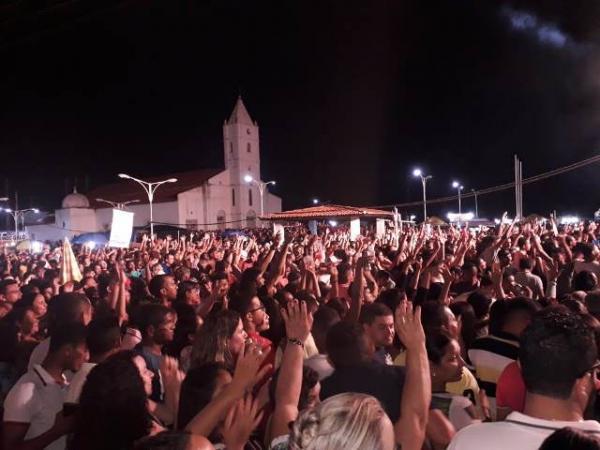 Show de Léo Magalhães marca o aniversário de Barão de Grajaú.(Imagem:Divulgação)