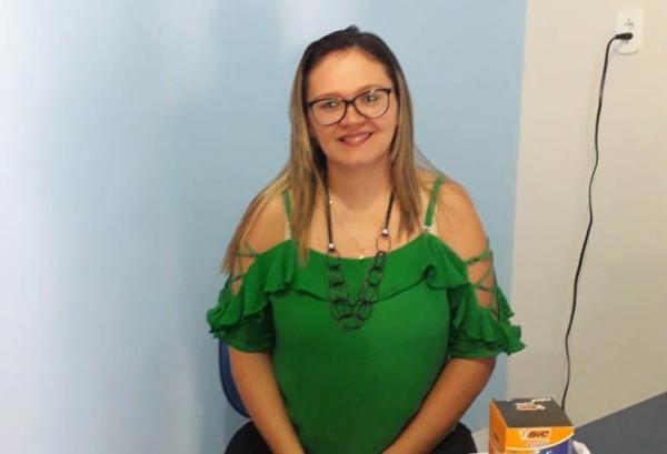 Keylla Nogueira, Secretária de Meio Ambiente.(Imagem:Divulgação)