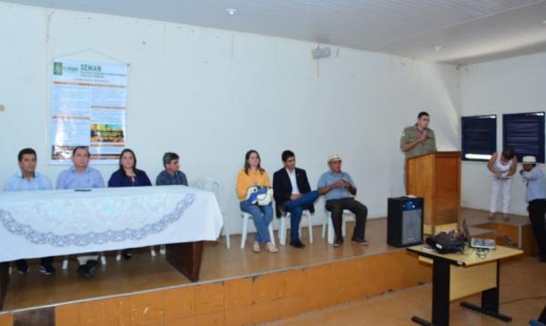 SEMAN apresenta ações desenvolvidas na campanha de combate às queimadas em Floriano.(Imagem:Secom)