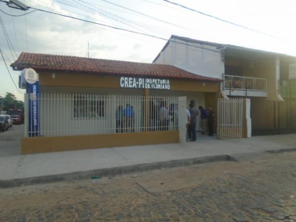 Sede própria do CREA-PI de Floriano (Imagem:FlorianoNews)