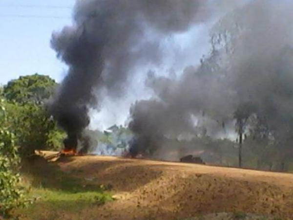 Moradores de Barão de Grajaú fecham Rodovia e pedem solução para poeira