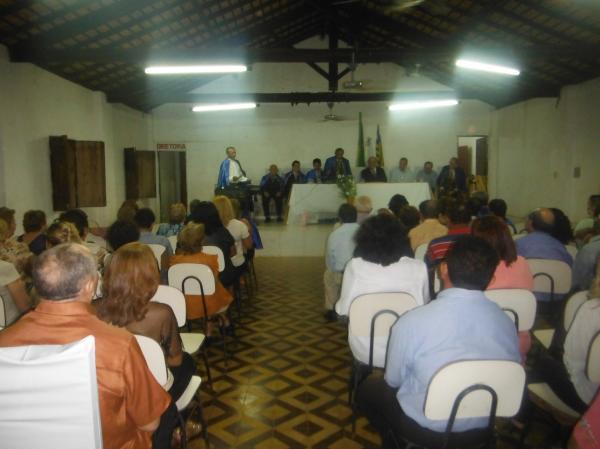 Homero Castelo Branco toma posse na Academia de Letras de Floriano.(Imagem:FlorianoNews)