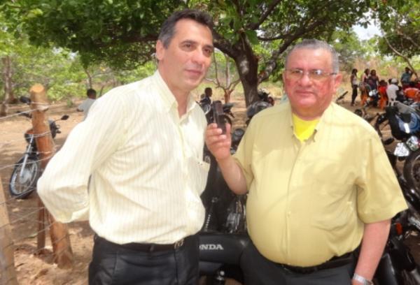 Gilberto Júnior, Prefeito de Floriano.(Imagem:FlorianoNews)