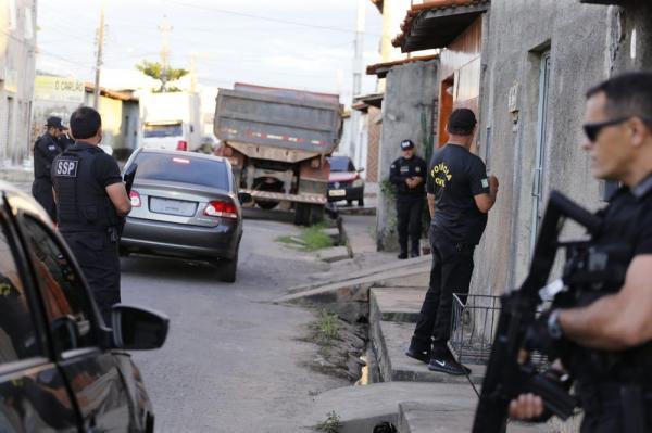 Operação Impacto cumpre mandados de prisão no Piauí e no Maranhão.(Imagem:Divulgação/SSP-PI)
