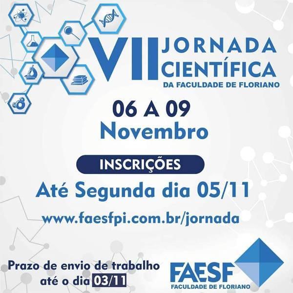 VII Jornada Científica da FAESF (Imagem:FAESF )