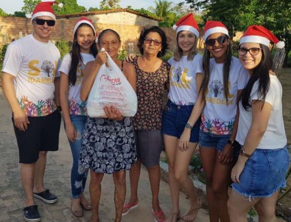 Coletivo promove ações para uma Semana Santa solidária em Floriano.(Imagem: Grupo Sol)