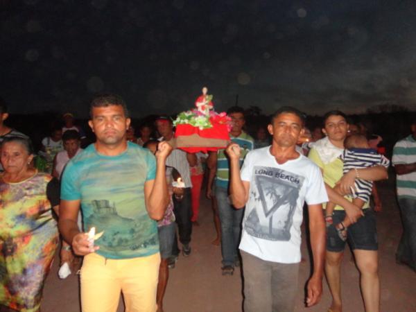 Festejo na localidade Rio Branco(Imagem:FlorianoNews)