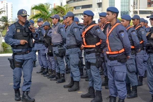 Concurso da Polícia Militar do Maranhão.(Imagem:Karlos Geromy/Secom)