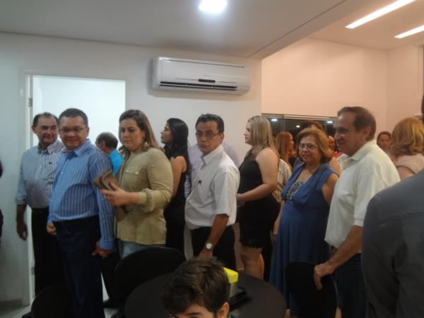 Inaugurado em Floriano Hospital de Olhos Bucar.(Imagem:FlorianoNews)