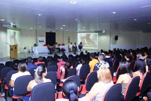 Ação do Agosto Dourado dialoga sobre a importância da amamentação em Floriano.(Imagem:Divulgação)
