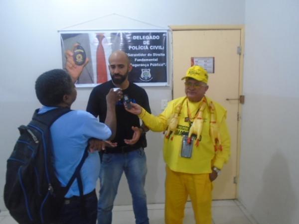 Delegado Júlio Castro(Imagem:FlorianoNews)