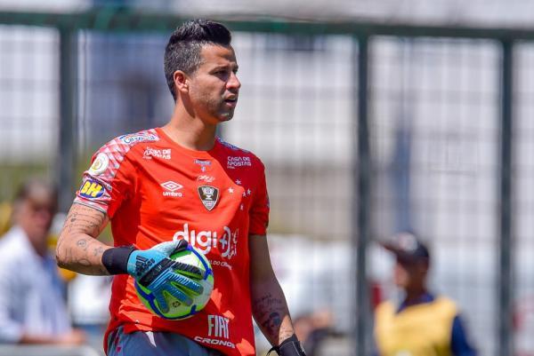 Fábio diz que reação do Cruzeiro passa por mudança de atitude dos jogadores em campo.(Imagem:Douglas Magno/BP Filmes)