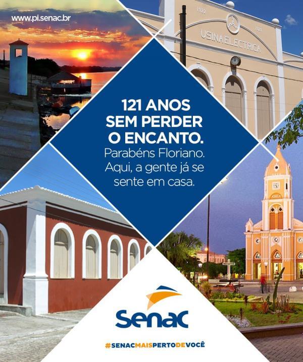 Parabéns Floriano!(Imagem:SENAC)