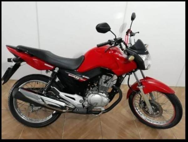 Motocicleta é tomada de assalto no centro de Floriano.(Imagem:Divulgação)