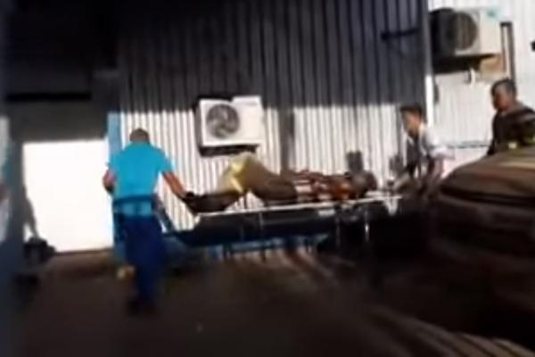 Servidor da Eletrobrás Floriano é encaminhado para Teresina após sofrer descarga elétrica.(Imagem:Reprodução/Jc24horas)
