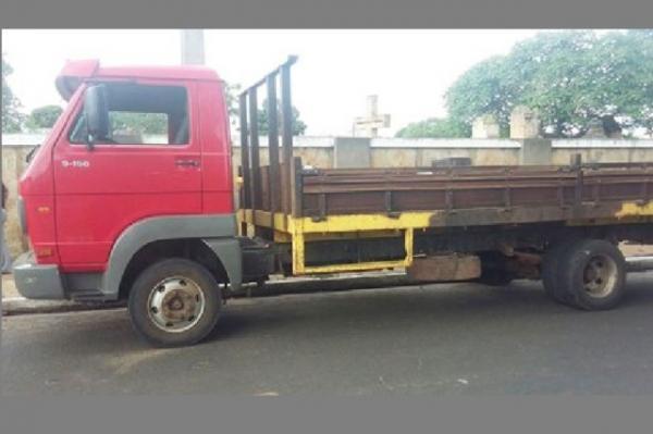 Homem é preso no Piauí com caminhão roubado no Ceará.(Imagem:Campomaioremfoco.com)
