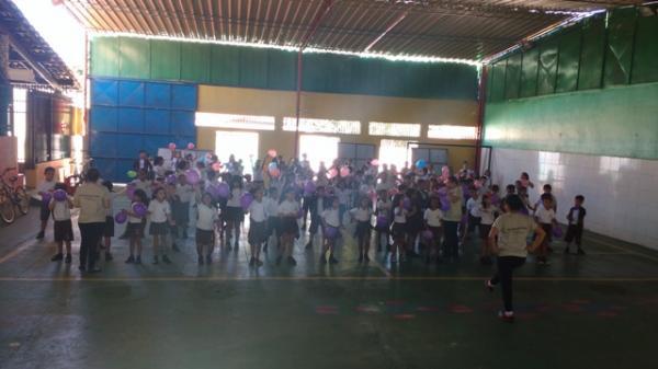 Show de Talentos marca o Dia do Estudante na Escola Pequeno Príncipe.(Imagem:EPP)