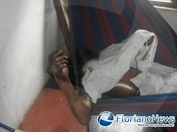 Homem encontrado morto em Barão de Grajaú já estado de putrefação(Imagem:FlorianoNews)