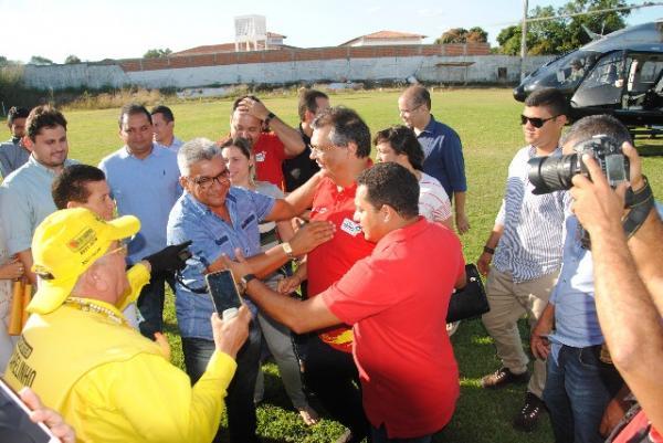 Governador do Maranhão inaugura obras e anuncia investimentos em Barão de Grajaú.(Imagem:Ascom)