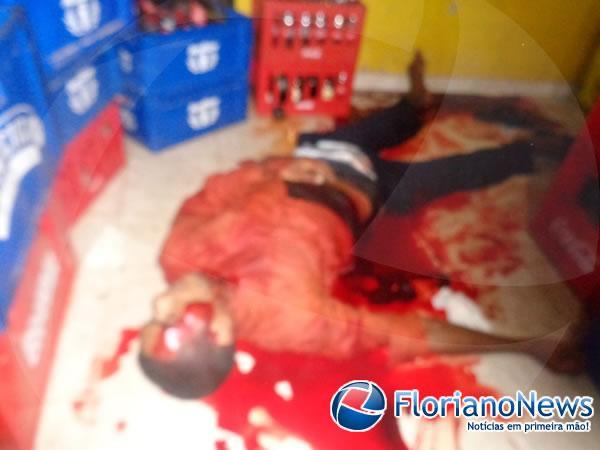 Homem é assassinado enquanto praticava assalto em Floriano.(Imagem:FlorianoNews)