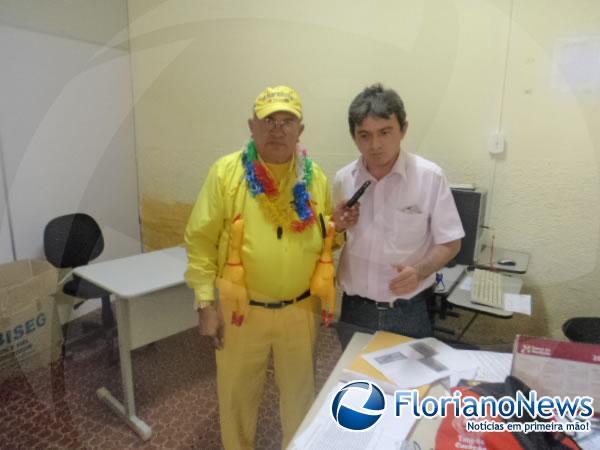 Secretário Edvaldo Araújo(Imagem:FlorianoNews)