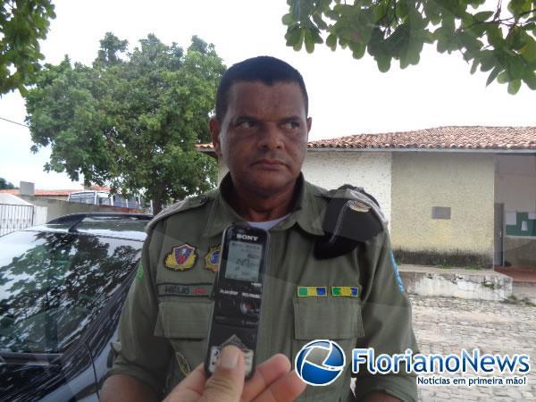 Tenente Hélio Pereira(Imagem:FlorianoNews)