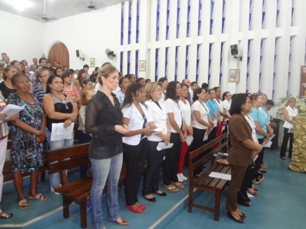 Florianenses prestaram última homenagem a Frei Antônio Curcio.(Imagem:FlorianoNews)
