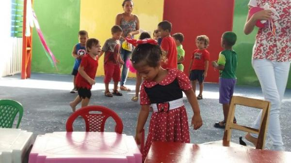 Instituto Educacional Anjos do Saber realiza baile de carnaval.(Imagem:Assessoria)