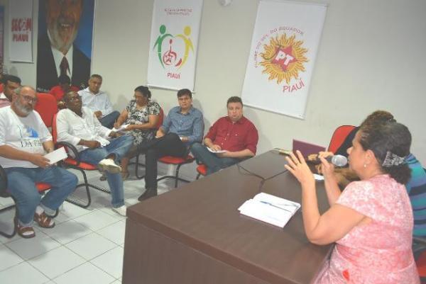 Regina Sousa recebe propostas para o mandato.(Imagem:Divulgação)