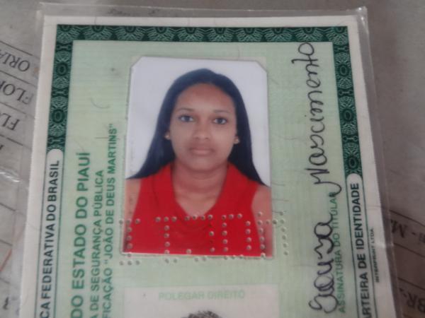 Documento de Identidade da Jairis de Sousa Nascimento(Imagem:FlorianoNews)