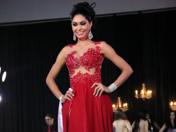 Sheislane Hayalla não aceitou ter tirado o segundo lugar no concurso.(Imagem:Marcos Dantas/G1 AM)