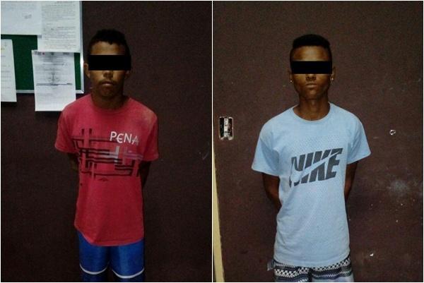 Suspeitos de assalto em Barão de Grajaú são presos pela PM de Floriano.(Imagem:Força Tática)