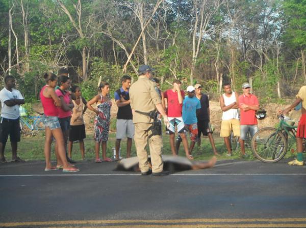 Acidente com vítima fatal nas proximidades da PRF de Floriano(Imagem:FlorianoNews)