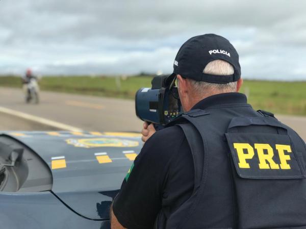 Fiscalização da Polícia Rodoviária Federal(Imagem:Divulgação/Ascom)