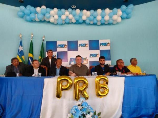 Gilmar Duarte assume a presidência do PRB Floriano.(Imagem:FlorianoNews)