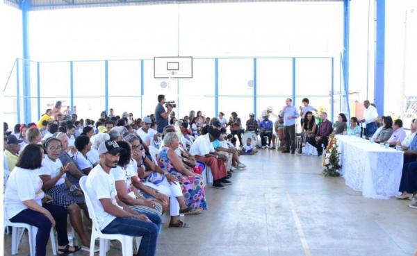Cultura realiza o II Encontro de Griô em Floriano.(Imagem:Secom)