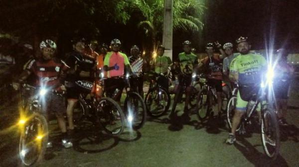 Ciclistas realizam último treino para o Campeonato Barão Enduros.(Imagem:FlorianoNews)
