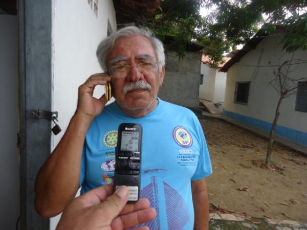 Coronel Vieira, Diretor da APAE de Floriano.(Imagem:FlorianoNews)