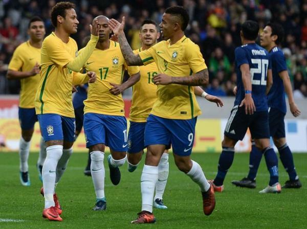 Brasil tem o maior alcance digital dentre as seleções da Copa.(Imagem:Pedro Martins / MoWA Press)