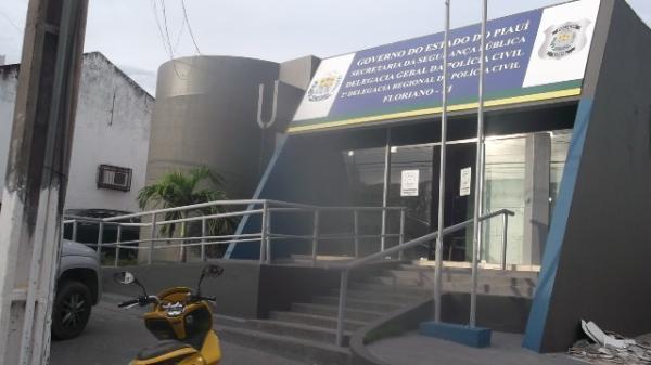 Delegacia Regional de Floriano(Imagem:FlorianoNews)