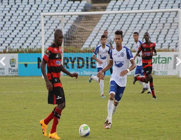 Parnahyba 2 x 0 Flamengo no Albertão(Imagem:Eduardo Frota - Cidadeverde.com)