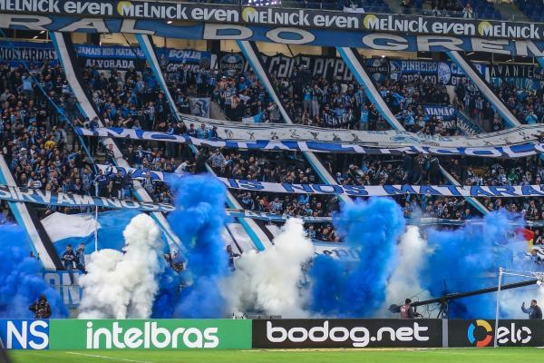 Clube prevê 50 mil torcedores para a partida de ida contra o Fla, na Arena, em 2 de outubro.(Imagem:Lucas Uebel/DVG/Grêmio)