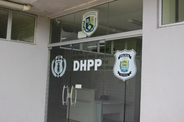 DHPP investiga o caso em Teresina.(Imagem:Lorena Linhares/G1)