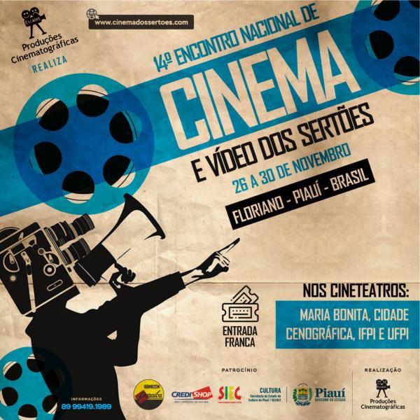 14º Encontro Nacional de Cinema e Vídeo dos Sertões (Imagem:Divulgação)