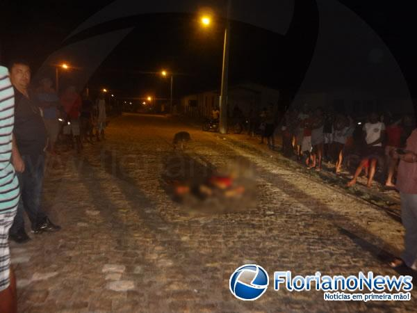 Assassinato no Zé Pereira(Imagem:FlorianoNews)