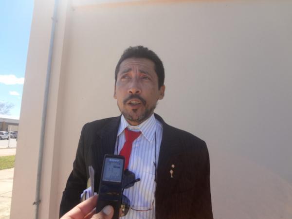 José de Arimatéia Dourado, Promotor de Justiça. (Imagem:FlorianoNews)