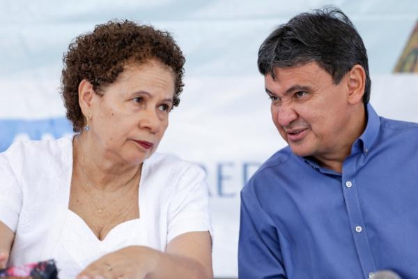 Wellington Dias e Regina Sousa(Imagem:Divulgação)